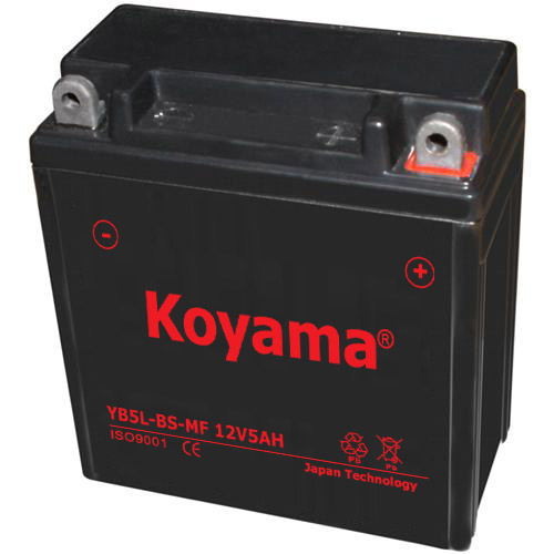 Yb5l-BS-Mf Sealed Maintenance Free Battery 12V 5ah Powersport Motorcycle Scooter Atvs