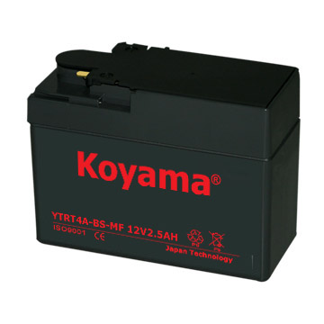 YTR4A-BS Sealed Maintenance Free Battery 12V Powersport Motorcycle Scooter ATV