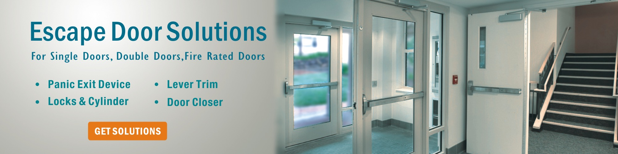Escape Door solutions-D&D door hardware manufacturer