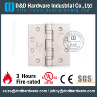 4 Ball Bearing Fire Rated Door Hinge for Metal Door with UL Certificate-DDSS004-FR-454546
