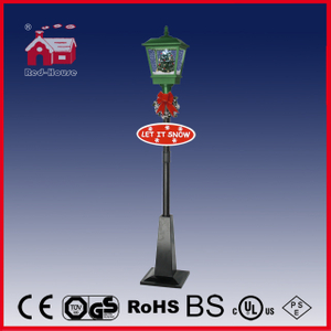 (LV180S-GH) LED Outdoor Vertical Street Lamp Christmas Crafts with Music