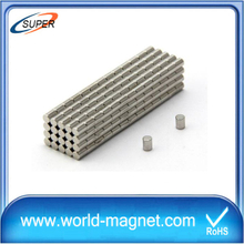 Industrial Strong Neodymium Cylinder Magnets