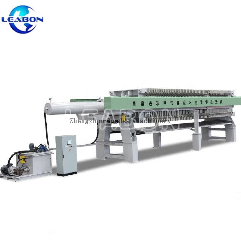 New Design Automatic Chamber Press Filter Oil for Liquor and Beverage Filtration