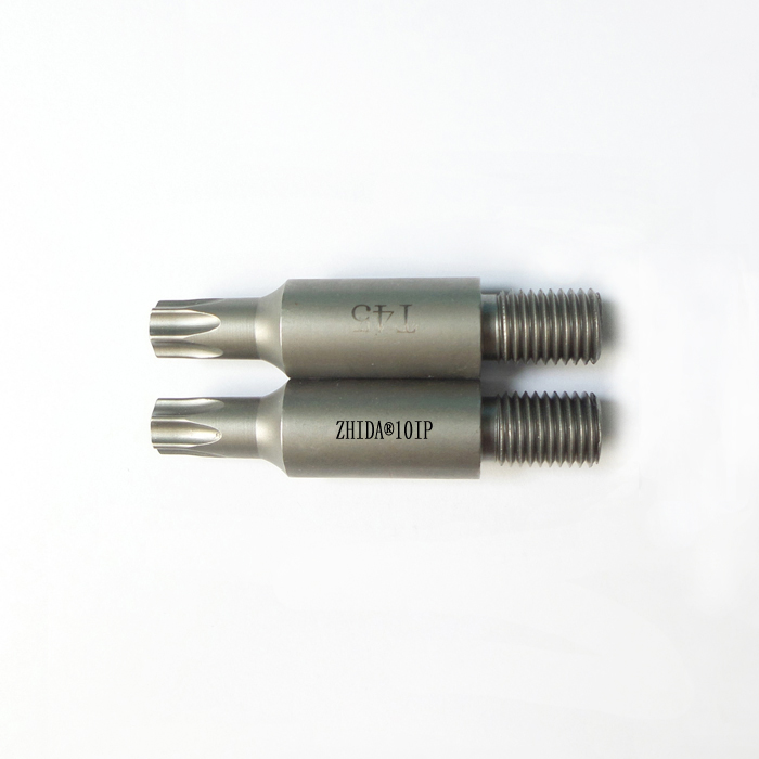 Thread Screw shank M10-1.25 Torx 45 driver bits 58MM