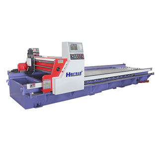 Horizontal Metal Sheet CNC V-Grooving Machine, Stainless Steel CNC V Slotting Machine