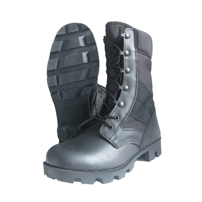 B930 Genuine leather rubber sole military army boots