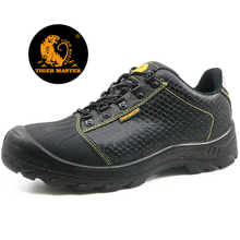 CE approved steel toe cap leather safety shoes for work