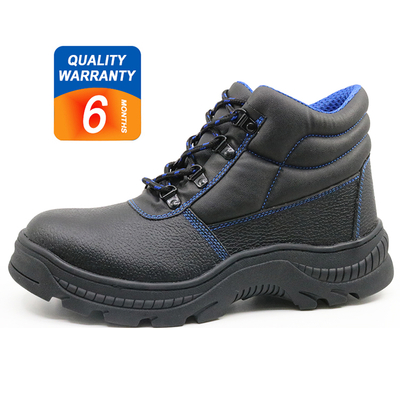 RB1091 CE approved heat resistant rubber sole steel toe cap shoes safety for work