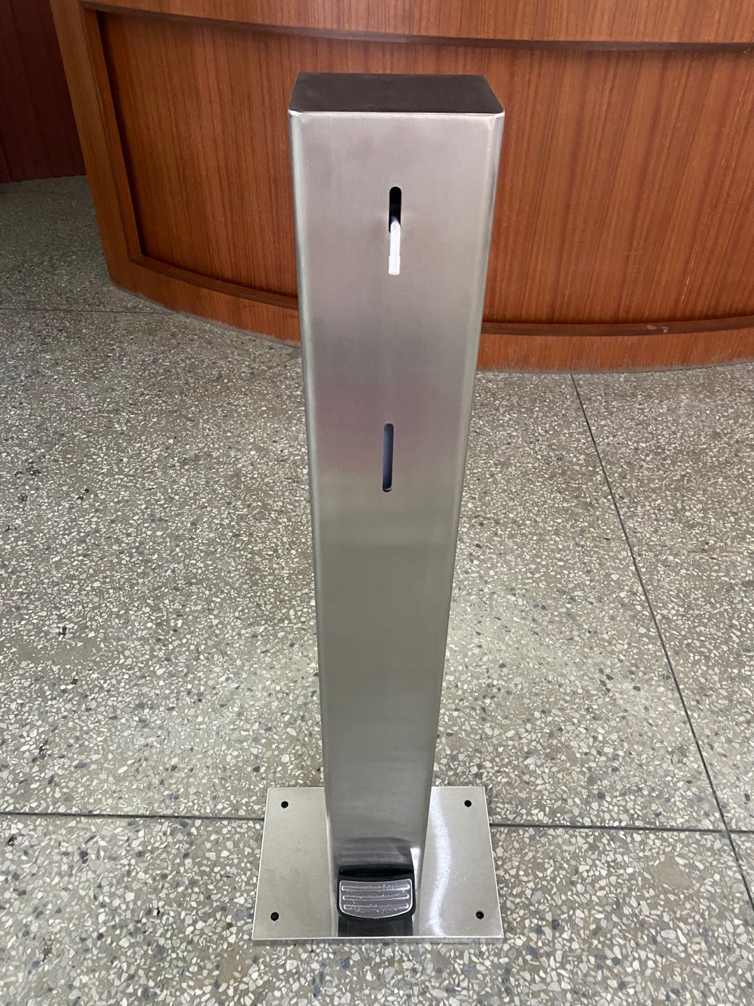 Touchless Hand Sanitizer Dispenser with Pedal Control