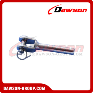 Stainless Steel Swage Fork Terminal with Internal Thread