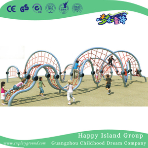 Outdoor Irregular Net Climbing Playground For Children Adventure (HHK-6101)
