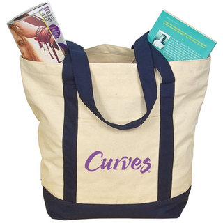 Popular Fashion Canvas Cotton Tote Bag (TP-TB028)