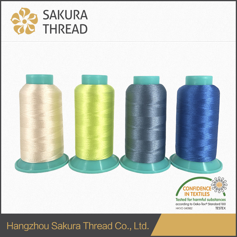 Rayon/Viscose embroidery thread 75D/2