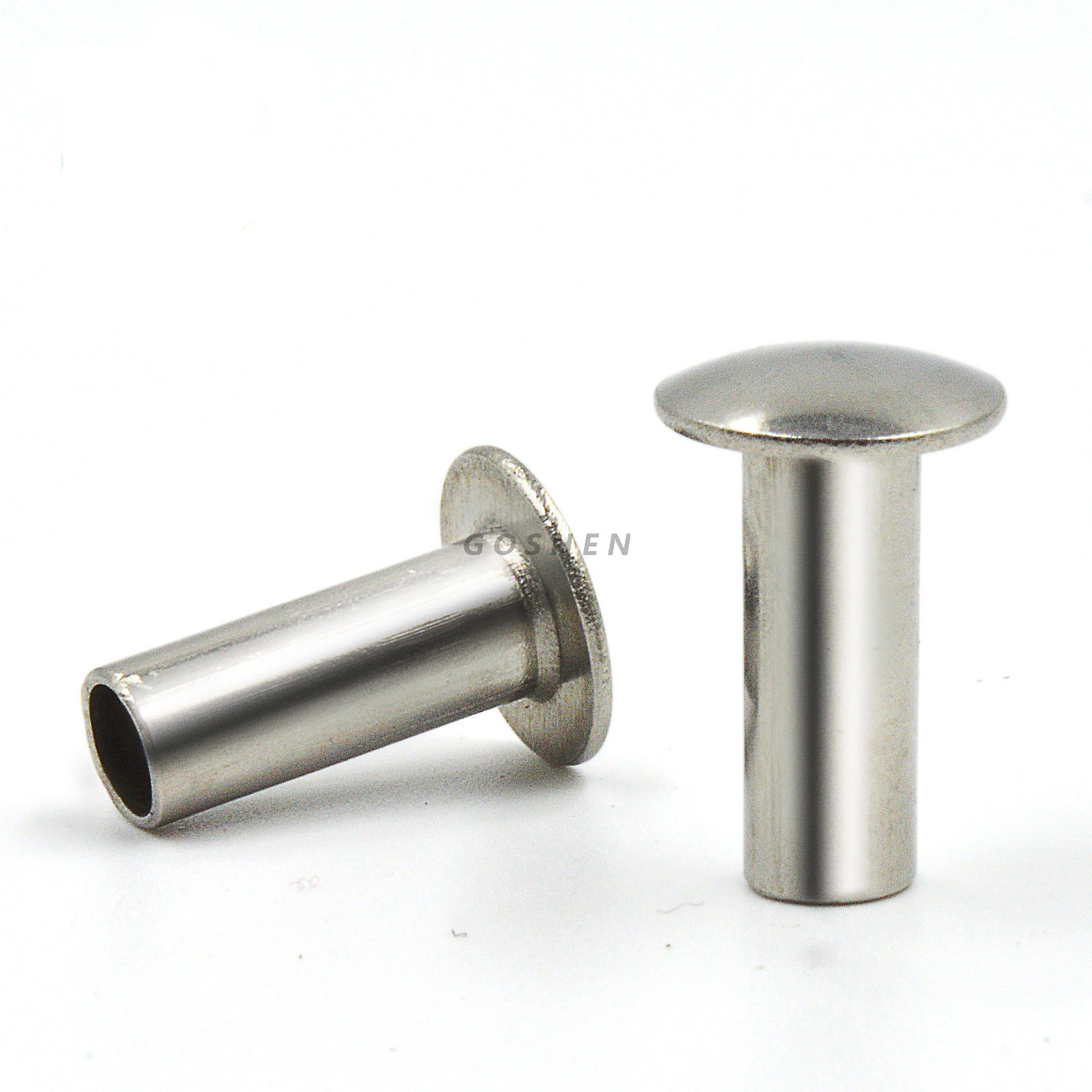 Stainless Steel 304 316 1.2 Oval Head Semi-Tubular Rivets