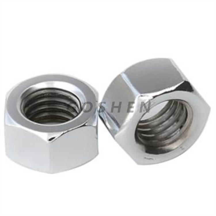 Stainless Steel SS304 A4-80 DIN934 Hexagon Hex Nuts
