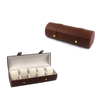 Custom made high quality square shape leather watch box