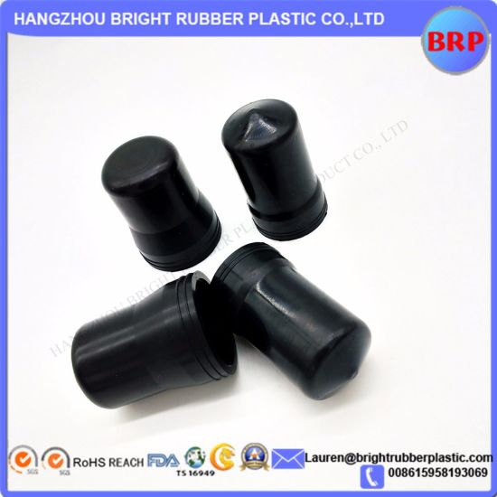 EPDM Custom Molded Rubber Anti-Dust Caps for Industry Use