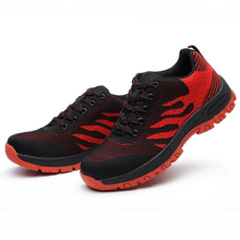 SP010 Red Stylish Non Slip Anti Static Sport Type Safety Shoe for Work