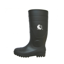 BBS Oil resistant waterproof steel toe cap pvc safety rain boots