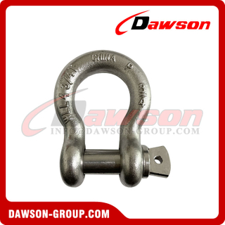 Stainless Steel 316 Drop Forged Rigging Hardware, Screw Pin Anchor Shackle