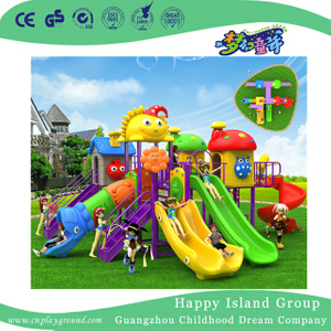 Garden Commercial Plastic Slide Children Playground (BBE-A68)