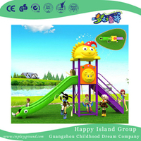 Cartoon Small Single Slide Children Playground (BBE-A48)