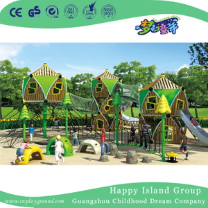 Outdoor Middle Climbing Combination Playground For Amusement Park (HHK-4201)