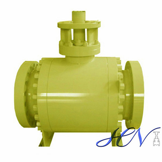 Fire Proof Side Entry Forged Trunnion Mounted Ball Valve