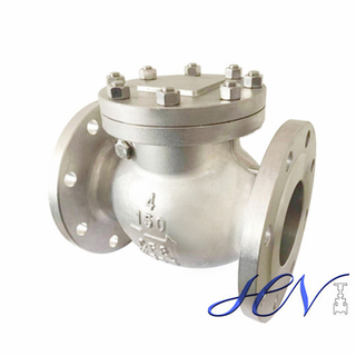 Water Bolted Cover Horizontal Flanged Industrial Swing Check Valve