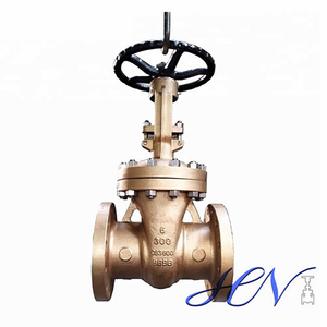 Bronze Bolted Bonnet Manual Flanged Marine Gate Valve