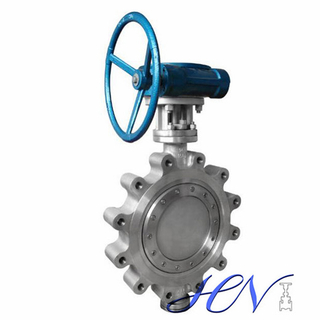 Metal Seated Lug Type Gear Operated Double Offset Butterfly Valve