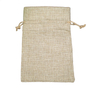 Natural Hessian Gift Storage Pouches drawstring Burlap Jute Candle Holder Bags