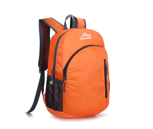 Folder Ripstop Polyester Backpack Bag Polyester Lightweight Folding Backpack