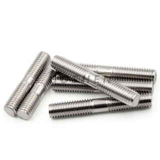 Duplex Stainless Steel 2205 Double Thread Head Bolt M10*50MM