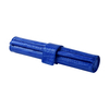 Wholesale Portable Blue Croco Pu Leather Backgammon Roll for Backgammon Game