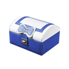 Custom Travel Pu Leather Woman Fashion Makeup Packaging Portable Jewelry Vanity Box