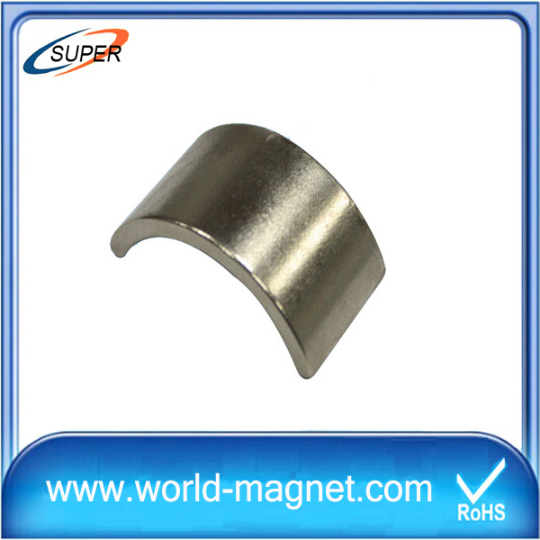 N48 Low Price Neodymium Magnet Arc Shaped for Sale