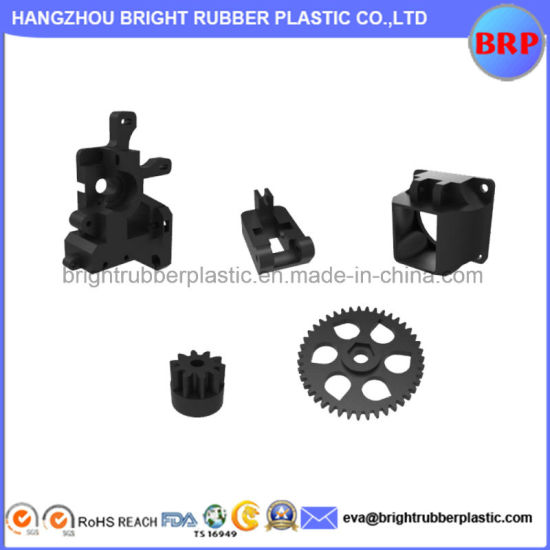 Custom Injection Plastic Parts with ABS, PP, PE, PVC