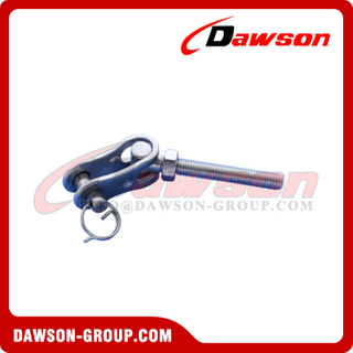 Stainless Steel Thread Toggle, Rigging Threaded Swage Toggle Terminal
