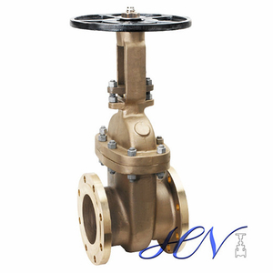 Bronze Flanged Manual Operated Bolted Bonnet Gate Valve