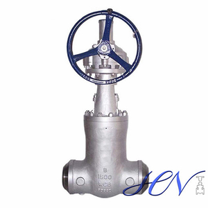Power Plant High Pressure Carbon Steel Pressure Seal Bonnet Gate Valve