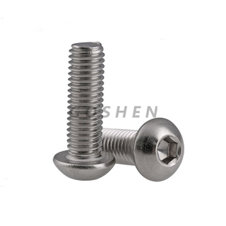 Stainless Steel ISO7380 316 Hexagon Socket Button Head Bolt