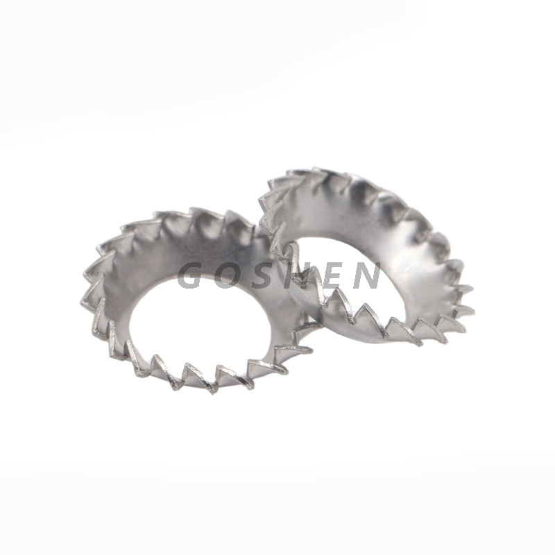 Din 6798 SS A2 A4 Toothed Lock Washers With Countersunk - Type V