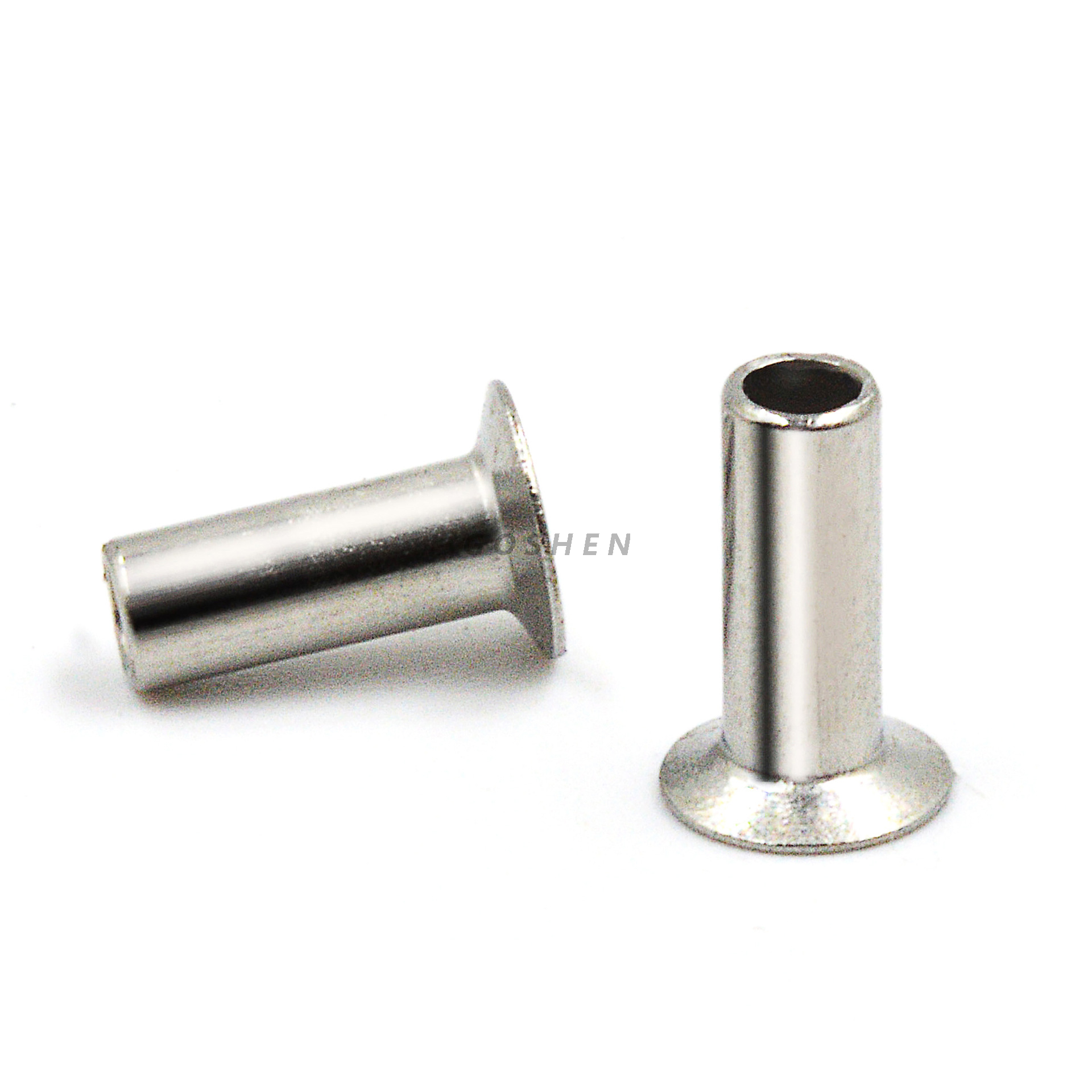 Stainless Steel 304 316 Φ2 Countersunk Head Semi-Tubular Rivets