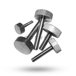 Din 653 Knurled Thin Head Aluminium Thumb Screw