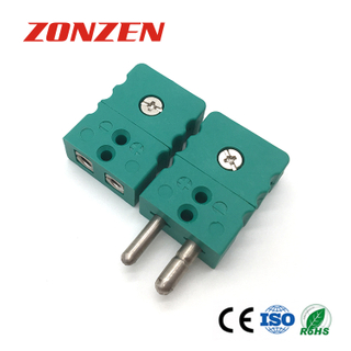 Standard Size Round Pin 2 Pole Thermocouple Connector