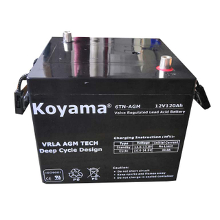 12V120AH Ordnance /Military/Tank Heavy Duty Battery-US-6T-AGM