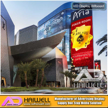 Maßgeschneiderte Design Plaza Outdoor LED-Display Billboard Struktur