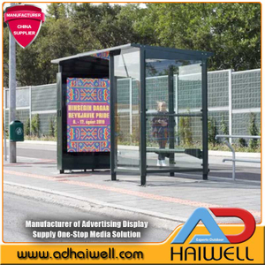 Affichages intelligents de ville d'arrêt de bus de LED