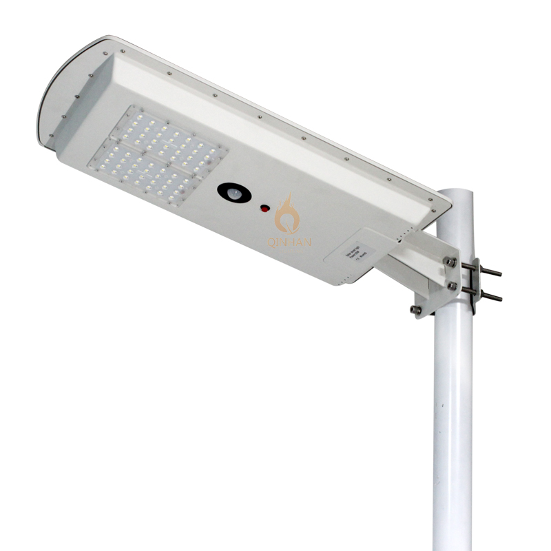 Waterproof IP65 30W Smart Motion Sensor Integrated Power Energy Solar All in One LED Street Light